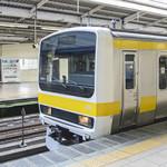 初めてのJR総武線通勤ラッシュ体験 黄色い各駅停車か青い快速か。